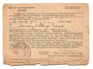 Conscription Card